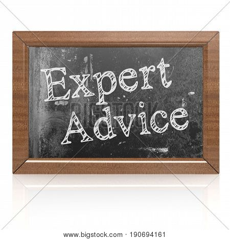 Success Concept With Expert Advice On Blackboard