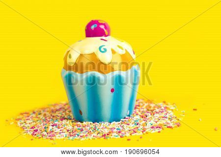 Multicolored Pastel background or colorful texture with top view. Pastel tasty fluffy sweet mini marshmallows. Minimal summer holiday style. Funny tasty cake.