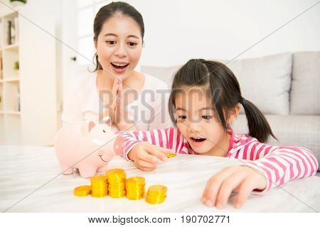 Family Budget And Savings Concept