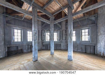 Woodwork Inside Aa Toren