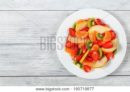 Delicious Juicy And Fresh Fruit Salad
