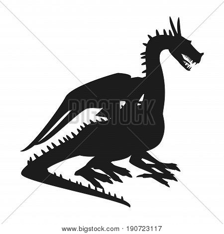 dragon mythical creature fantasy beast animal vector illustration