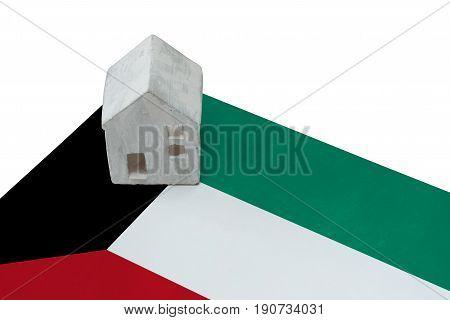 Small House On A Flag - Kuwait