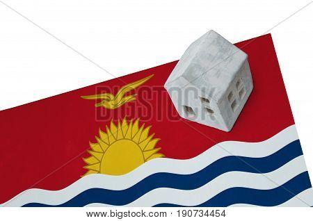 Small House On A Flag - Kiribati