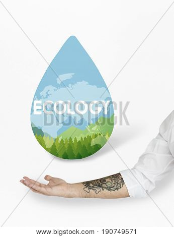 Save Water Natural Nurture Environmentally Development