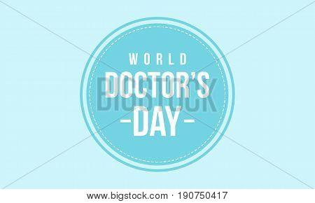 World doctor day vector art illustartion collection stock