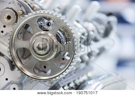 Gear of drive of a gas-distributing mechanism of the automobile engine.
