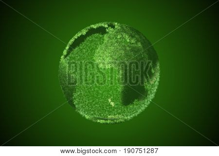 Global warming concept - earth day concept - 3d rendering