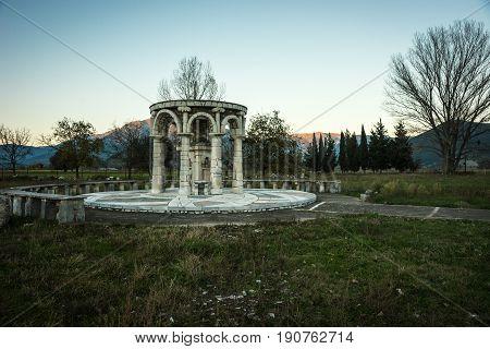 Image of Ancient Mantineia, Arcadia, Peloponnese, Greece