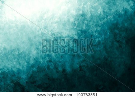 Smooth abstract colorful background. Abstract blurred gradient background in blue colors. Colorful smooth banner template. Soft colored illustration