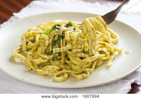 Scialatielli With Pesto