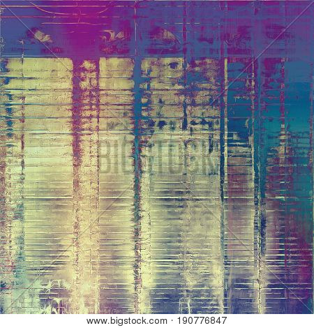 Colorful grunge background, tinted vintage style texture. With different color patterns: blue; cyan; yellow (beige); gray; purple (violet); pink