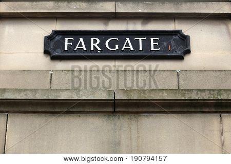 Fargate, Sheffield