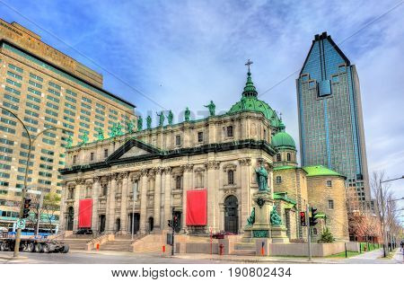 Mary, Queen of the World Cathedral in Montreal - Quebec, Canada