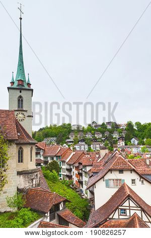 Bern Old Town, Switzerland. Cityscape