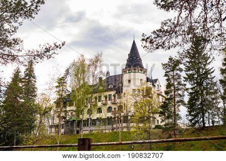 Art Nouveau house in Imatra, Finland