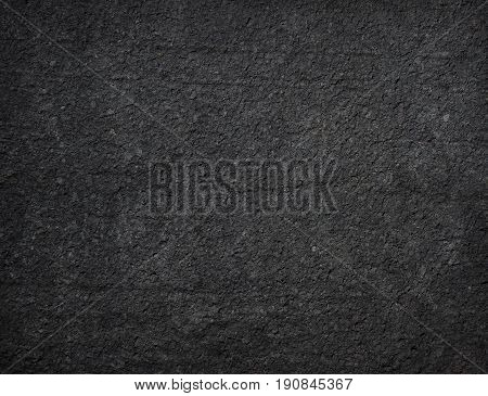 Black Granular Textured Background