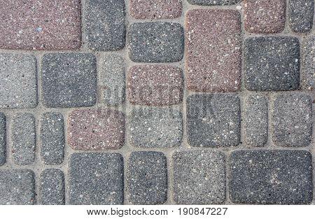 stone street texture ground block, latvia, cesis