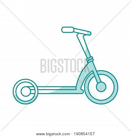 bycicle flat illustration icon vector design graphic shadow