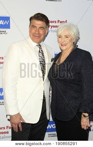 LOS ANGELES - JUN 11:  Bryan Batt, Betty Buckley at the Actors Fund's 21st Annual Tony Awards Viewing Party at the Skirball Cultural Center on June 11, 2017 in Los Angeles, CA