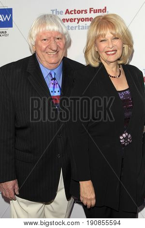 LOS ANGELES - JUN 11:  Ben Lanzarone, Ilene Graff at the Actors Fund's 21st Annual Tony Awards Viewing Party at the Skirball Cultural Center on June 11, 2017 in Los Angeles, CA