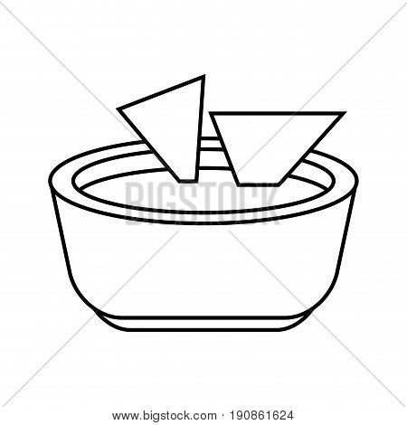 soup green oodle icon vector illustration design graphic