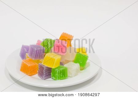 Colorful Sweetness Jelly Candy .