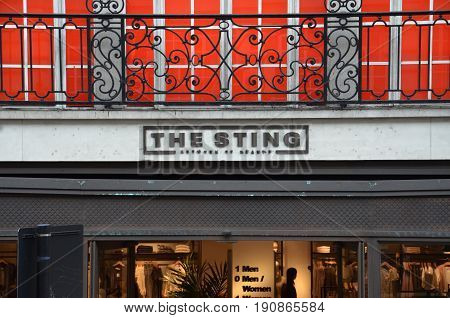 London The Sting Store Logo
