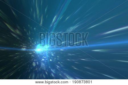 Modern abstract beautiful rays light streak background