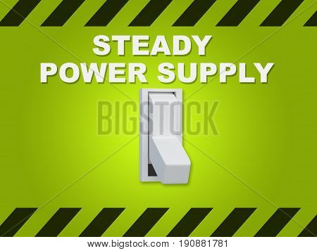 Steady Power Supply Concept