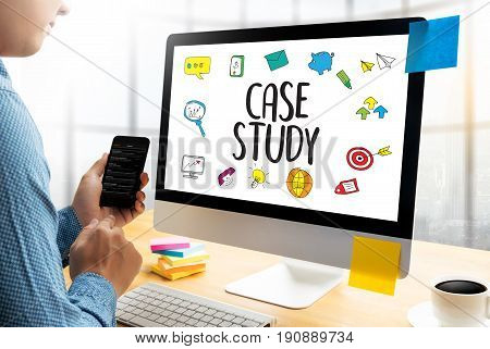 Case Study Student Studying Hard And Students Learning Education Diverse People  Campus