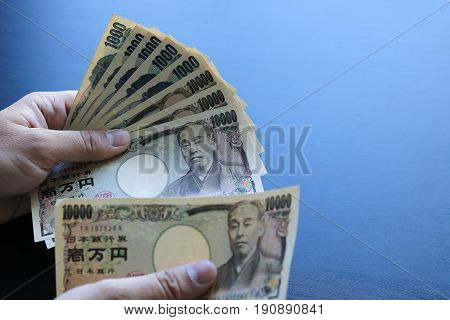 Yen Notes  Money Concept Background Closeup Of Japanese Currency Yen Bankgdd