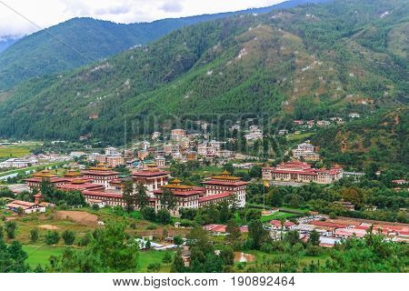 Royal Palace Tashichho Dzong, Thimphu, Bhutan