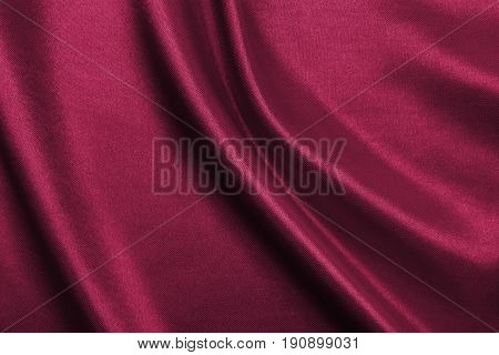 Smooth Elegant Pink Silk Or Satin Luxury Cloth Texture As Abstract Background. Luxurious Background