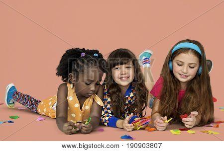 Little Children Art And Craft Paper