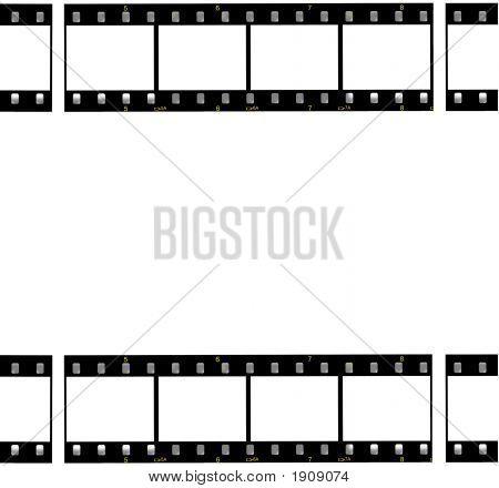 Film Strips Border Frame