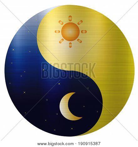 Ying Yang Sun Moon harmony spiritual  balance