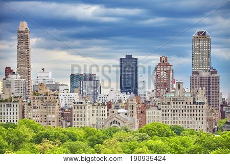 Upper East Side Of Manhattan, Nyc, Usa.