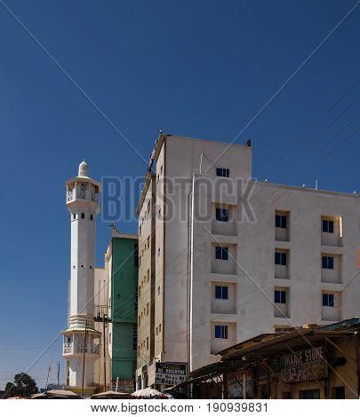 Mosque in Hargeisa biggest city of Somaliland - 11.01.2016 Somalia