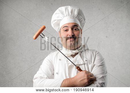 Proud cook