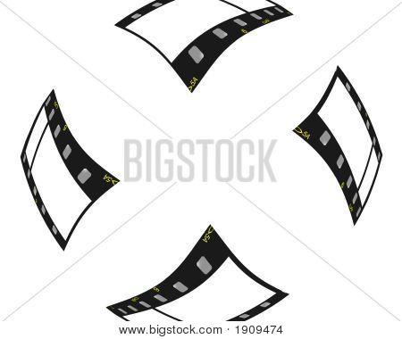 Flying Film Strips Border