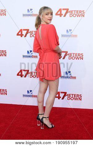 LOS ANGELES - JUN 12:  Violett Beane at the