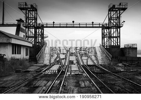 Varna Rail Ferry Complex, Bulgaria