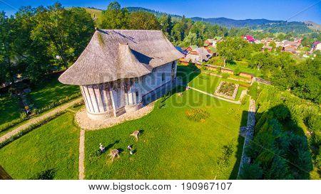 Gura Humorului monastery christian orthodox church Moldavia Bucovina Romania