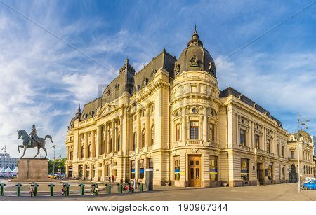 Carol I University foundation and Central University Library of Bucharest Romania.