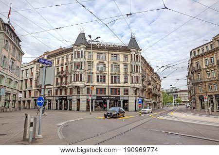 Mall Globus, Inner City Of Zurich, Switzerland