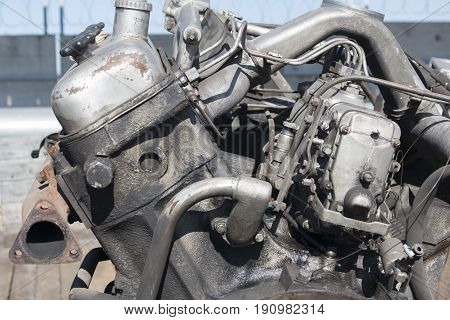 engine of internal combustion, repair of cars and agricultural machinery