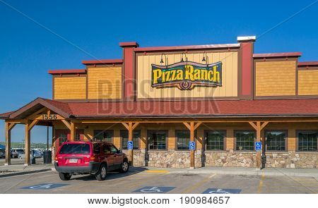 Pizza Ranch Exterior And Sign