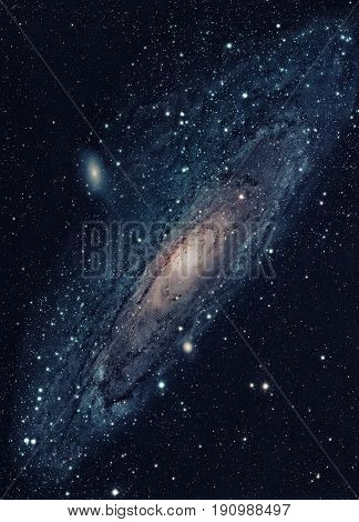 The Andromeda Galaxy Is A Nearest Spiral Galaxy To The Milky Way