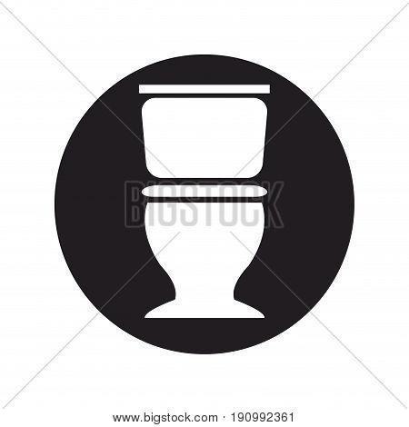 toilet sanitation porcelain plumbing equipment vector illustration